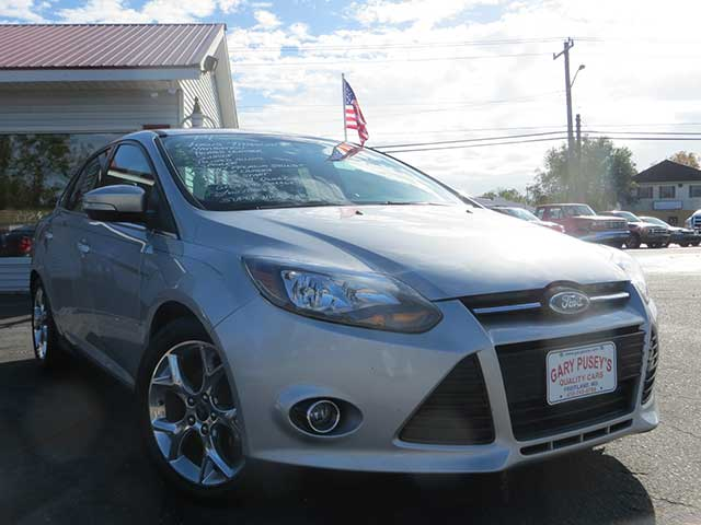 "2014 Ford Focus ""Titanium"" Nav./Leather/Sunroof/Low Miles ONLY $189 mo/$1,000 down!"