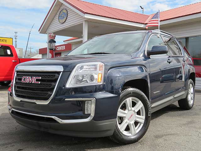 "2016 GMC Terrain ""SLE2"" AWD V-6 Low Miles and Loaded!"