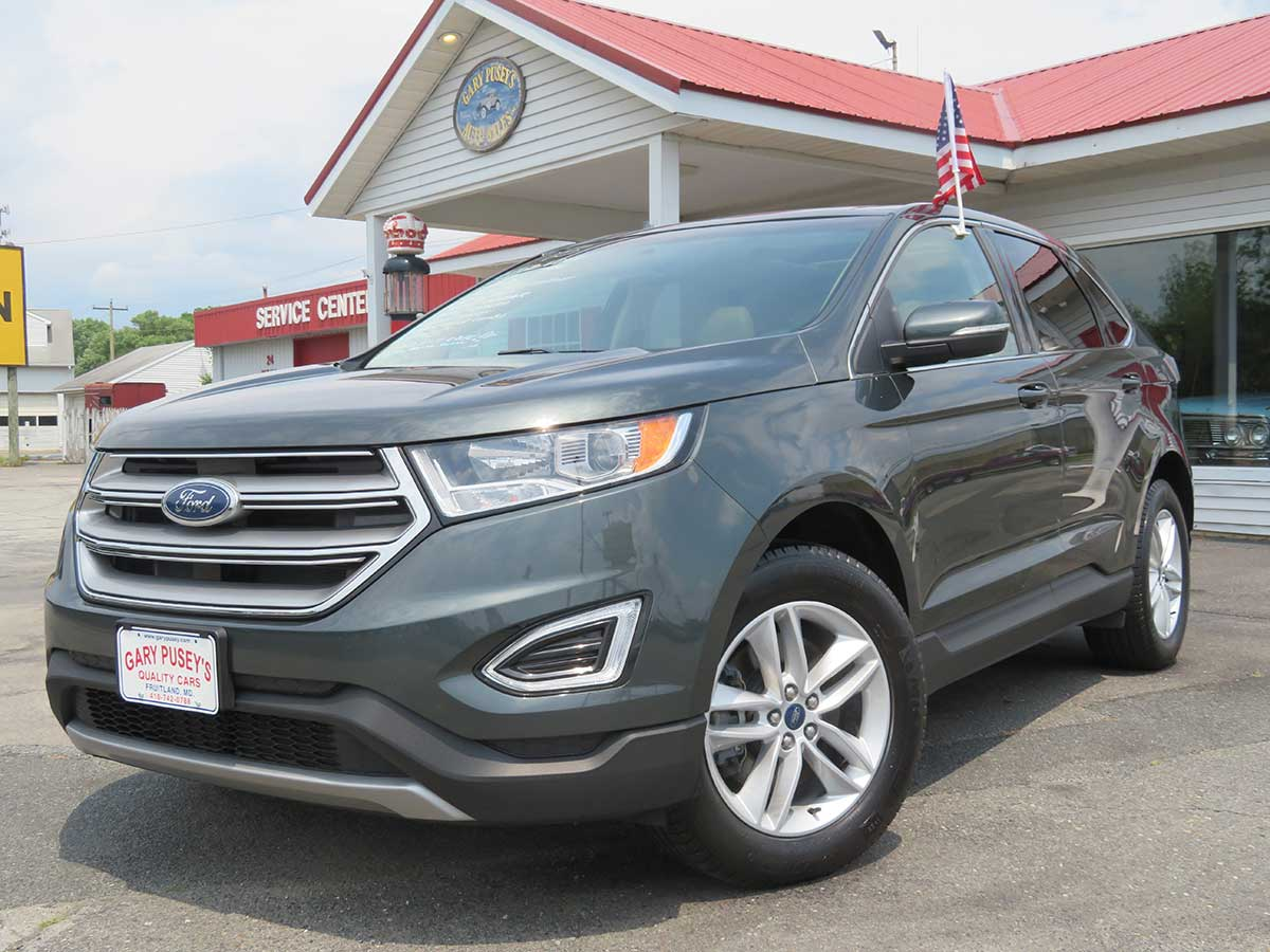 "2015 Ford Edge ""SEL"" AWD Low Miles/Nav./Pan. Sunroof/Heated Leather"