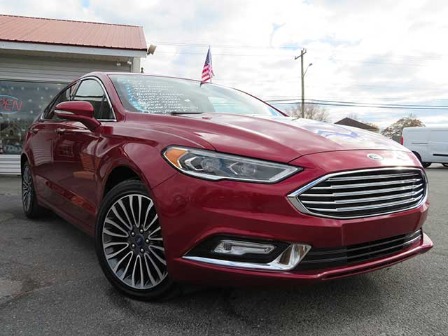"2017 Ford Fusion ""SE"" Nav./Leather/Sunroof"