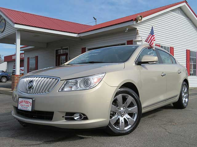 "2011 Buick LaCrosse ""CXL"" ONLY 38,k miles/Local ""1"" Owner/Pan. Sunroof/Leather/Chrome Pkg."