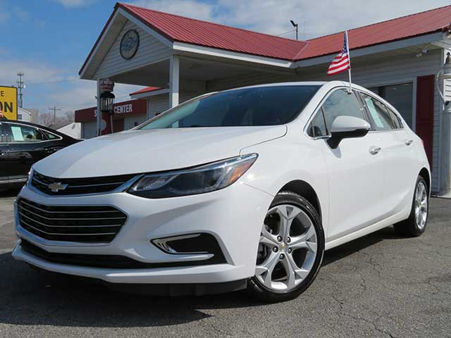 "2018 Chevrolet Cruze ""Premier"" Hatchback 14,k miles w/ Leather ONLY $225 mo. with $1,000 down!!"