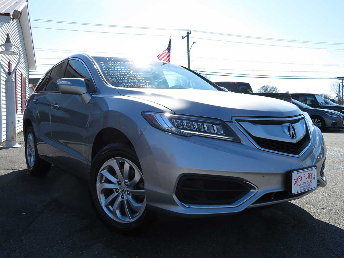 2017 Acura RDX AWD Low Miles/Sunroof/Leather